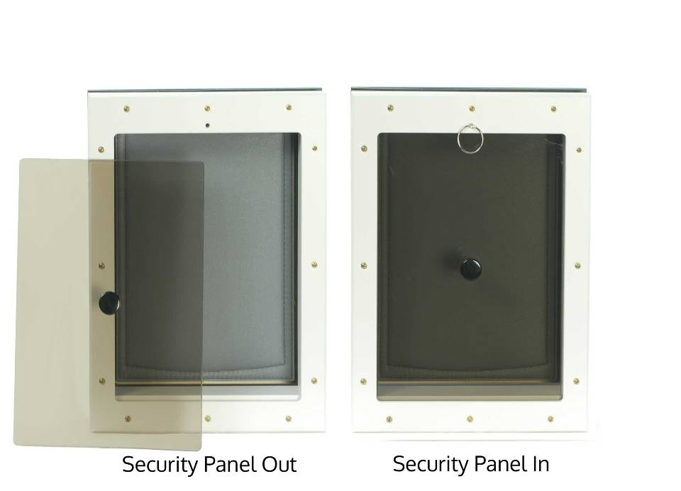 Locking security panel for Freedom Pet Pass energy-efficient dog doors