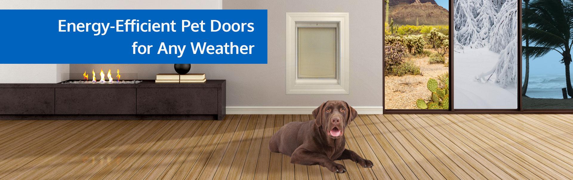 Freedom Pet Pass Energy-Efficient Pet Doors